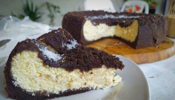 Пирог — ватрушка