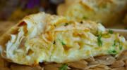 Ачма сырная из лаваша