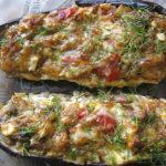 Баклажаны фаршированные по-каталонски. Очень вкусное и интересное блюдо