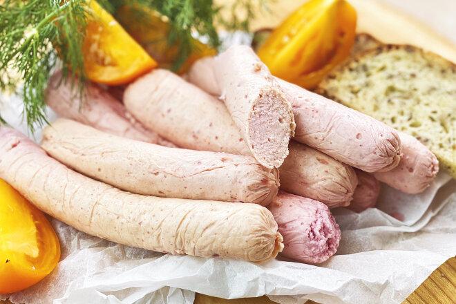 Готовим дома натуральные вкусные молочные сосиски без нитритной соли, без специальных приспособлений, из простых продуктов