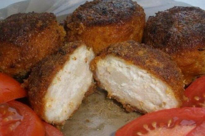 Куриные фрикадельки со сметанным соусом