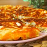 Ленивое хачапури на сковороде за 10 минут