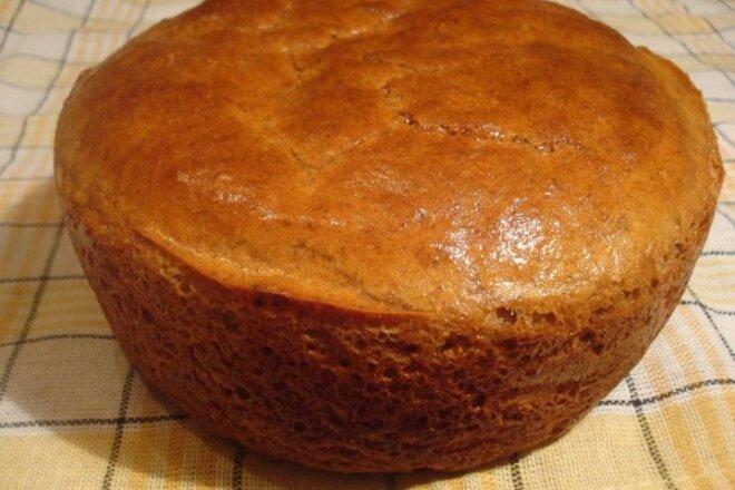 Рецепт быстрого приготовления хлеба из пшеничной муки.