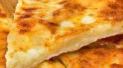 Рецепт ленивых хачапури с сыром, на сковороде