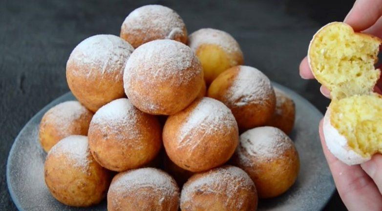 Целая гора пончиков из одной пачки творога!