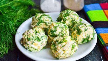 Куриные шарики «Рафаэлло» с сыром