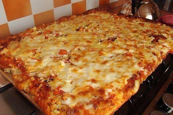 Быстрая и вкуснейшая пицца