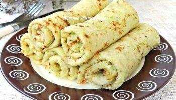 Вкусные кабачковые блинчики можно приготовить на завтрак или на ужин. Блинчики получаются очень нежными и мягкими.
