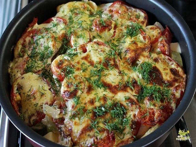Еще один способ приготовить вкусное и сытное блюдо из кабачков