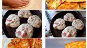 Оладья — пицца! Дети и муж обожают такие оладьи. Они часто берут их с собой в качестве перекуса