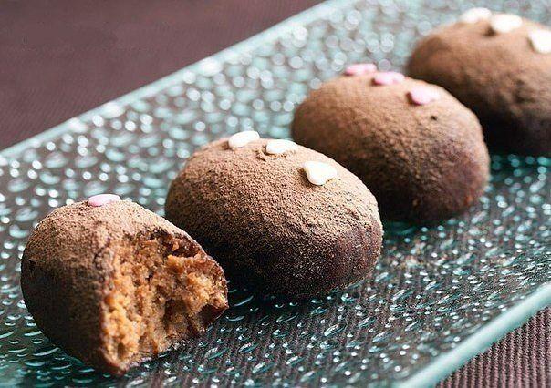 Пирожное шоколадная картошка