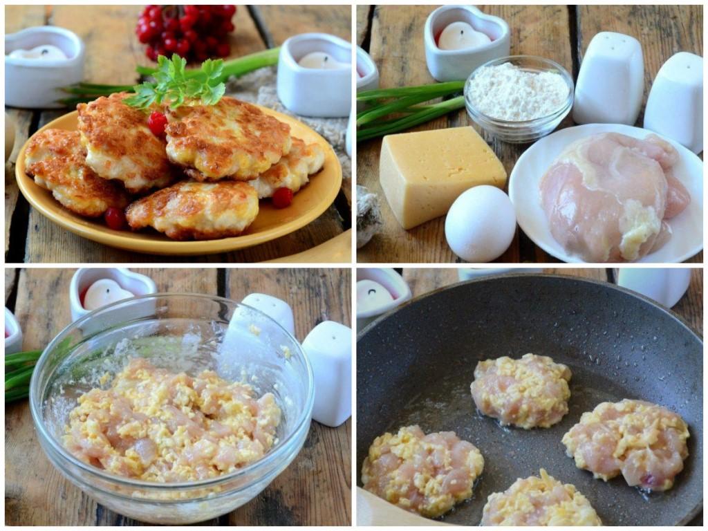 Рецепт приготовления шницелей с сыром