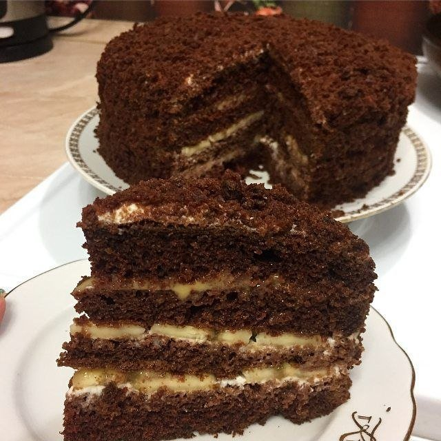 Тортик - Чёрный принц. Он действительно лёгкий и вкусный