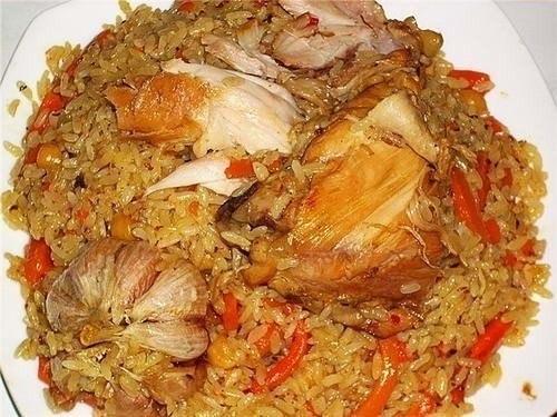 Традиционный рецепт узбекского плова с курицей