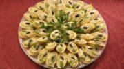 Чикен — салат мини-тарталетки