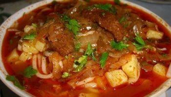 Лагман- узбекскuй густой суп, простое в приготовление аппетитное блюдо