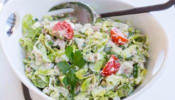 Превосходный салат с тунцом