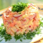 Вкусный салат для похудения