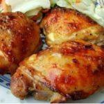 Самые вкусные куриные бедрышки в духовке