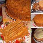 Легко готовится, очень вкусный и нежирный! Безумно вкусный крем и воздушные медовые коржи!