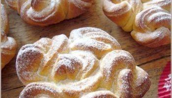 Необыкновенные, изящные, кружевные булочки. Перед такой красотой мало кто устоит!