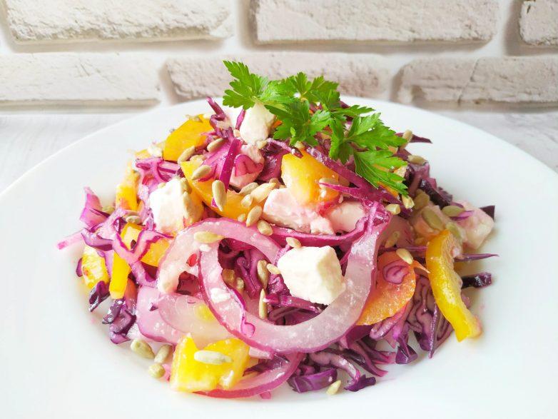 Новый салат из капусты, у которого нет конкурентов!