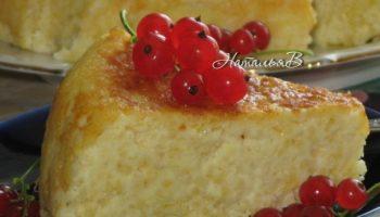 Пшенная запеканка — вкусный и полезный завтрак для всей семьи(в мультиварке)