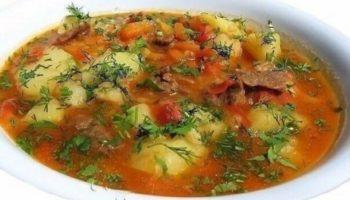 Этот суп пришел к нам с Востока. Он прост в приготовлении и порадует вас и ваших близких своим насыщенным яркuм вкусом