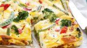 Фриттата с овощами: начни день с правильного завтрака!