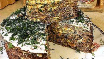 Рецепт печеночного торта!