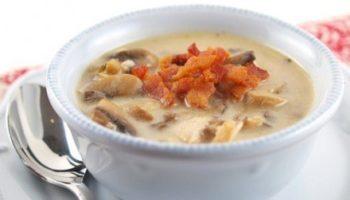 Мой фирменный рецепт грибного супа с индейкой