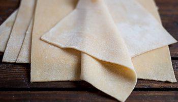 Домашнее тесто для пасты или лазаньи