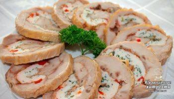 Зaмeна колбасе — куриный рулет