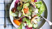 Салат «3 правила»: простой вкусный легкий