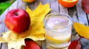Компот из яблок и апельсинов со сливой, рецепт с фото