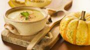 Сливочный тыквенный суп-пюре с картофелем, рецепт с фото и видео