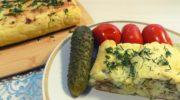 Рулет из картофельного пюре с сыром и мясным фаршем, рецепт с фото и видео