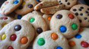 Простое детское печенье с M&M's, рецепт с фото