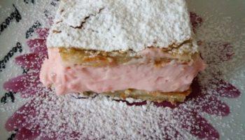 Сливочное пирожное с пудингом, рецепт с фото