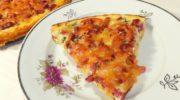 Пицца из кабачков с колбасой и сыром в духовке, рецепт с фото и видео