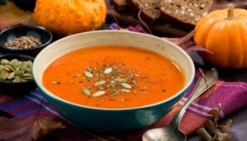 Тыквенный суп-пюре с имбирем и яблоком в мультиварке, рецепт с фото и видео