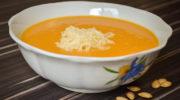 Тыквенный суп-пюре с плавленым сыром и паприкой, рецепт с фото и видео
