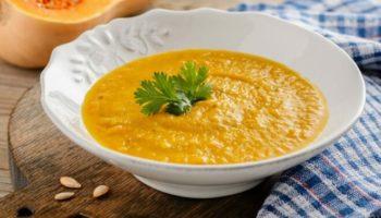 Тыквенный суп-пюре с курицей и картофелем, рецепт с фото и видео