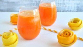 Апельсиновый лимонад с лимонным соком, рецепт с фото