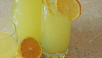 Лимонад из лимонов с цедрой, рецепт с фото