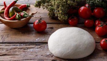 Тесто для пиццы на рисовой и кукурузной муке