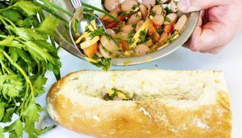Улетные горячие бутерброды — быстрый завтрак на весь день!