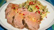 Ростбиф из говядины с овощами в духовке, рецепт с фото и видео
