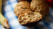 Печенье из овсяной муки с бананами и сухофруктами, рецепт с фото