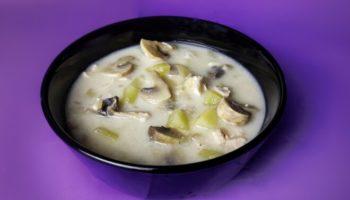 Сырный суп с курицей и шампиньонами, рецепт с фото и видео